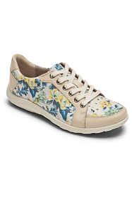 Women's Wide Width Cobb Hill Amalie Lace Sneakers