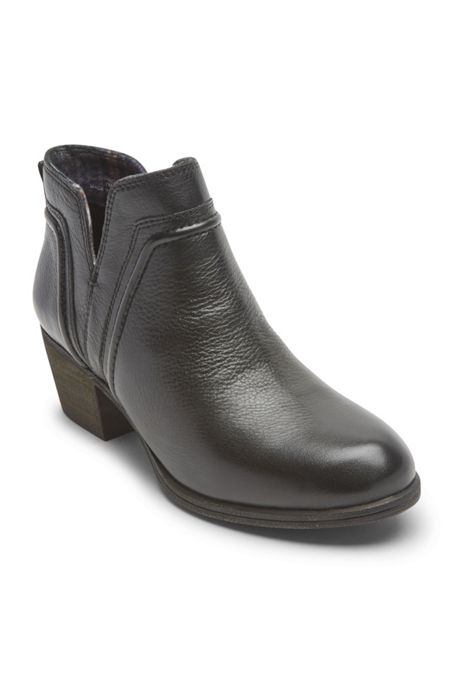 Women's Cobb Hill Anisa Leather V-Cut Booties