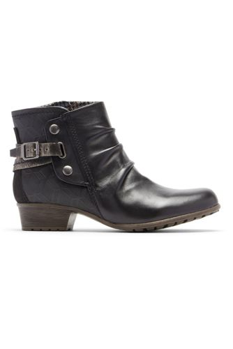 Women's Cobb Hill Gratasha Leather Hardware Boots
