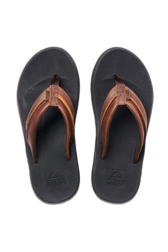 Men's Reef Leather Element TQT Sandals