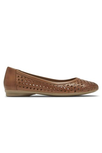 Women's Narrow Width Cobb Hill Maiika Woven Leather Ballet Flats