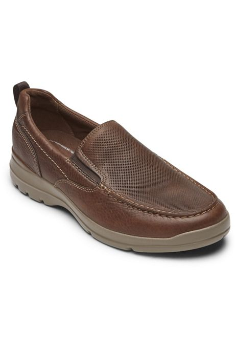 Men's Rockport City Edge Leather Slip On Shoes
