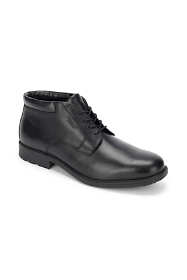 Men's Narrow Width Rockport Essential Details Waterproof Leather Chukka Boots