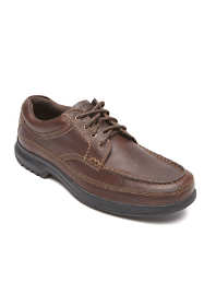 Men's Wide Width Rockport Banni Leather Oxford Shoes