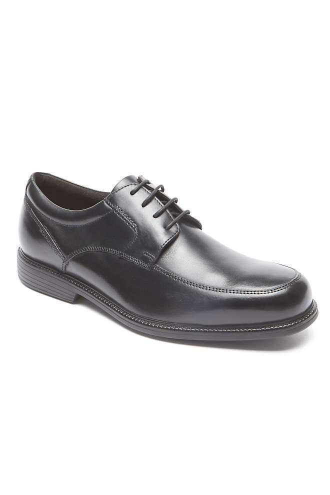 Men's Rockport Charlesroad Leather Apron Toe Oxford Shoes, Front