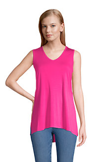 Women's Jersey Knit Sleeveless Tunic