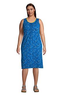 Women's Sleeveless Jersey Pintuck Dress