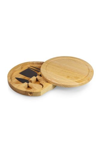 Picnic Time Brie Cheese Cutting Board With Tools