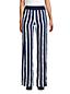 Pantalon Large en Lin Taille Haute, Femme Grande Taille