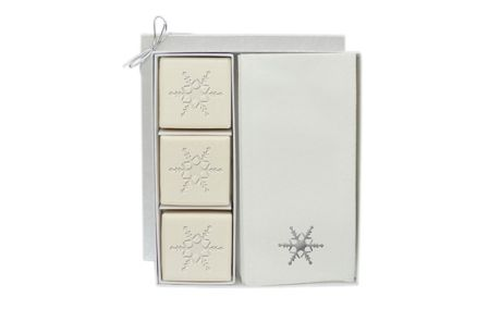 Carved Solutions Holiday Guest Soap Gift Set