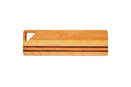 Carved Solutions Personalized Integrity Wood Long Cutting Board