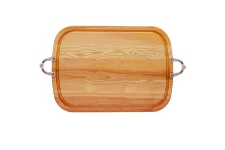 Carved Solutions Personalized Everyday Wood Serving Tray