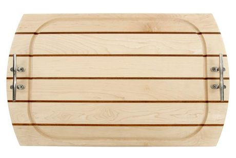 Carved Solutions Personalized Oval Nautical Wood Serving Tray