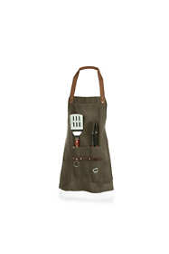 Picnic Time Grill Apron With Tools and Bottle Opener