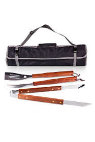 Picnic Time 3 Piece BBQ Tote and Grill Set