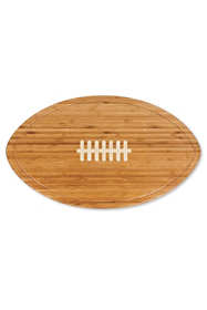 Picnic Time Football Cheese Cutting Board and Tray