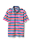 Men's Woven Collar Stretch Piqué Polo Shirt