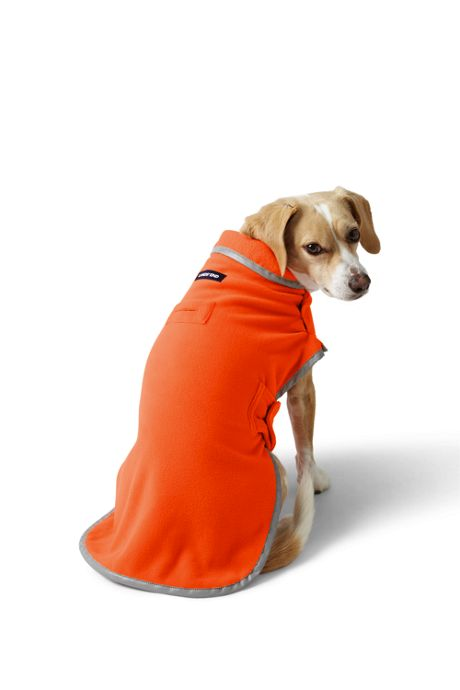 Solid Fleece Dog Jacket