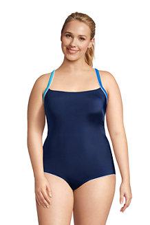 Women's Chlorine Resistant Cross Back Swimsuit