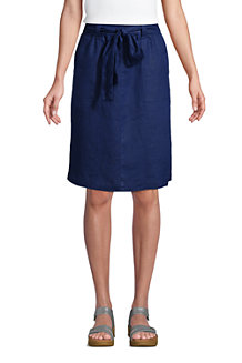 Women's Pure Linen Skirt