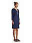 Women's Embroidered V-Neck Cotton Cover-up Dress