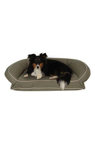 Carolina Pet Company Classic Canvas Bolster Dog Bed
