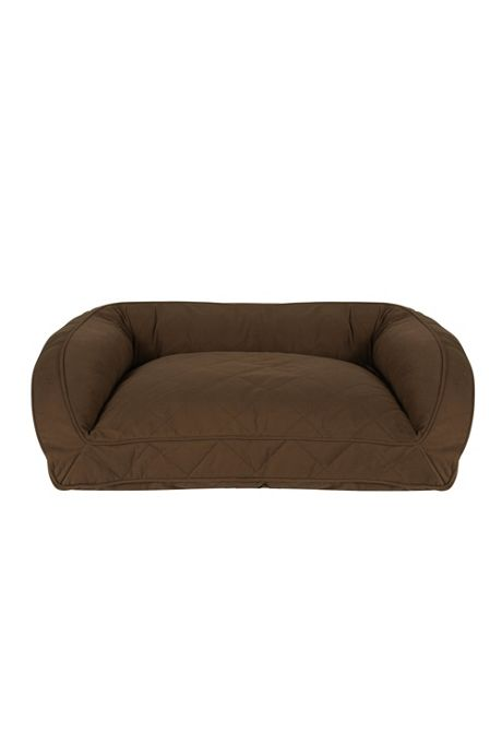 Carolina Pet Company Quilted Microfiber Bolster Dog Bed