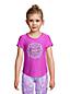 AKTIVE-Shirt mit gekreuzten Rückenbändern für Mädchen