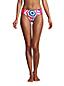 Mid Waist Bikinihose CHLORRESISTENT Gemustert für Damen