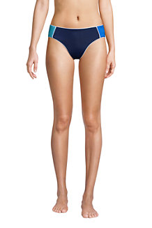 Bas de Bikini Taille Mi-Haute Résistant au Chlore, Femme
