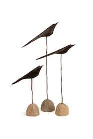 Napa Home and Garden 3 Piece Bird Decorative Statue Set