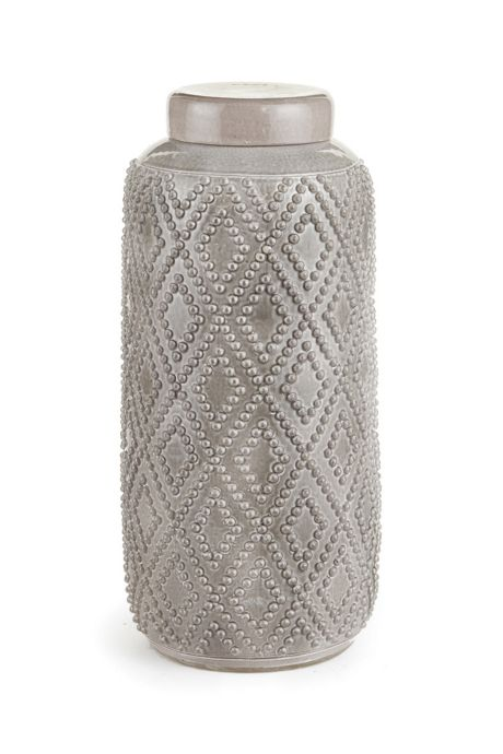 Napa Home and Garden 16 inch Westlake Tall Lidded Cylinder