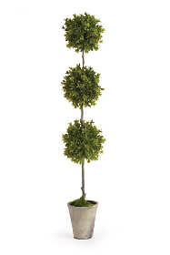 Napa Home and Garden 36 inch Artificial Barclay Butera Boxwood Potted Topiary