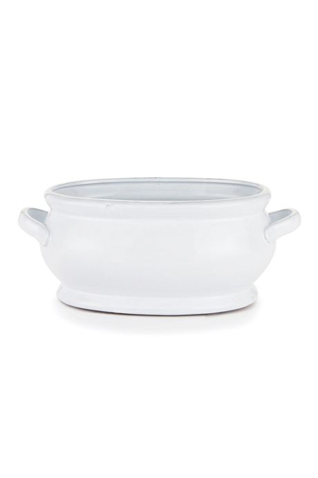 Napa Home and Garden Bradford Oval Ceramic Cachepot