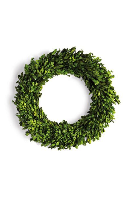 Napa Home and Garden 20 inch Artificial Boxwood Long Branch Wreath