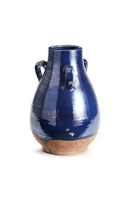 Napa Home and Garden Segovia Decorative Terra Cotta Vase with Handles