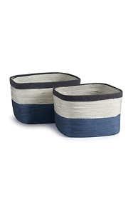 Napa Home and Garden Ayden Rectangular Baskets Set Of 2