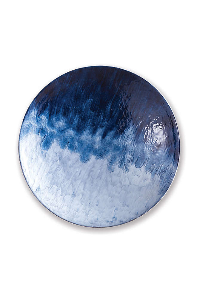 Napa Home and Garden Azul Large Decorative Plate, Front