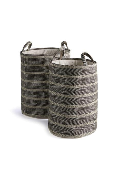 Napa Home and Garden Marleigh Round Baskets Set Of 2