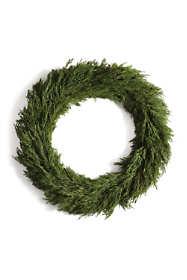 Napa Home and Garden 24 inch Artificial Cypress Wreath