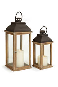 Napa Home and Gardent Carmel Lanterns Set Of 2