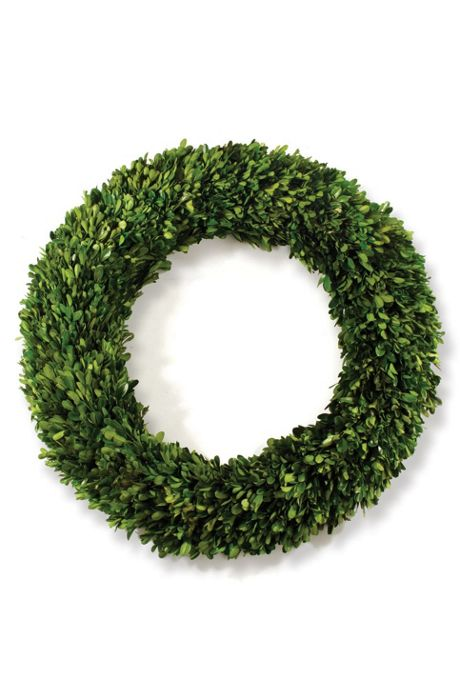 Napa Home and Garden 24 inch Artificial Boxwood Wreath