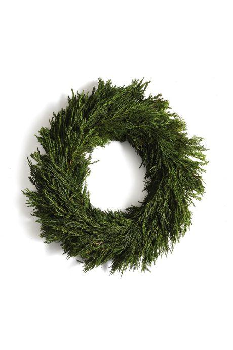 Napa Home and Garden 16 inch Artificial Cypress Wreath