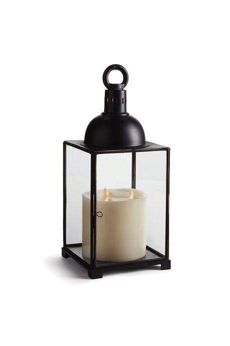Napa Home and Garden 18.5 inch Aragon Iron and Glass Lantern