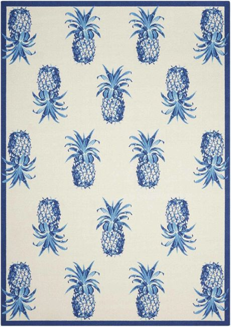 Waverly Indoor Outdoor Printed Rug