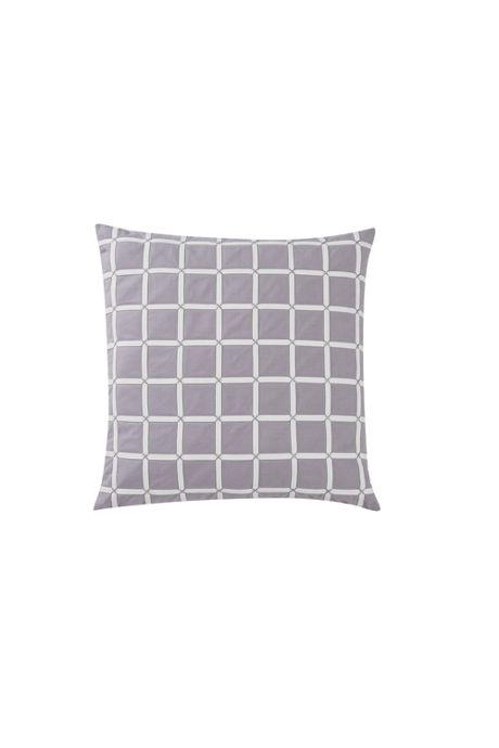 Charisma Essex Grid Decorative Throw Pillow