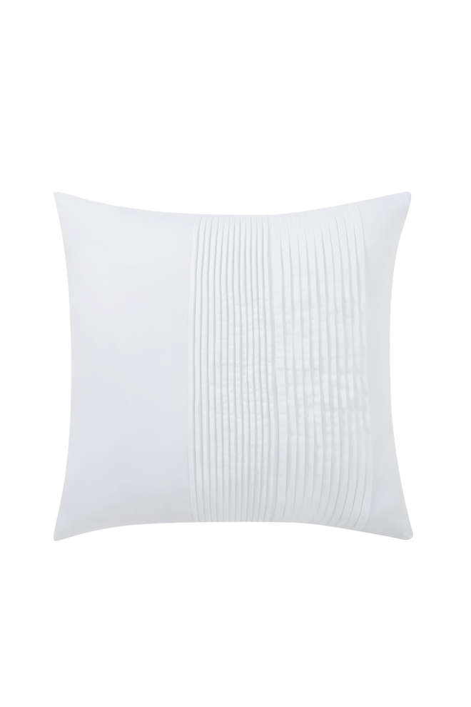 Charisma Bedford Pleated Decorative Throw Pillow, Front