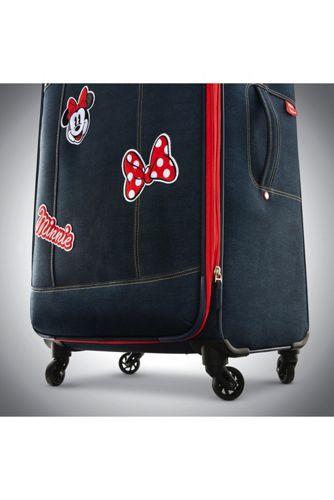American Tourister Disney Denim Minnie Softside 28 inch Spinner Luggage