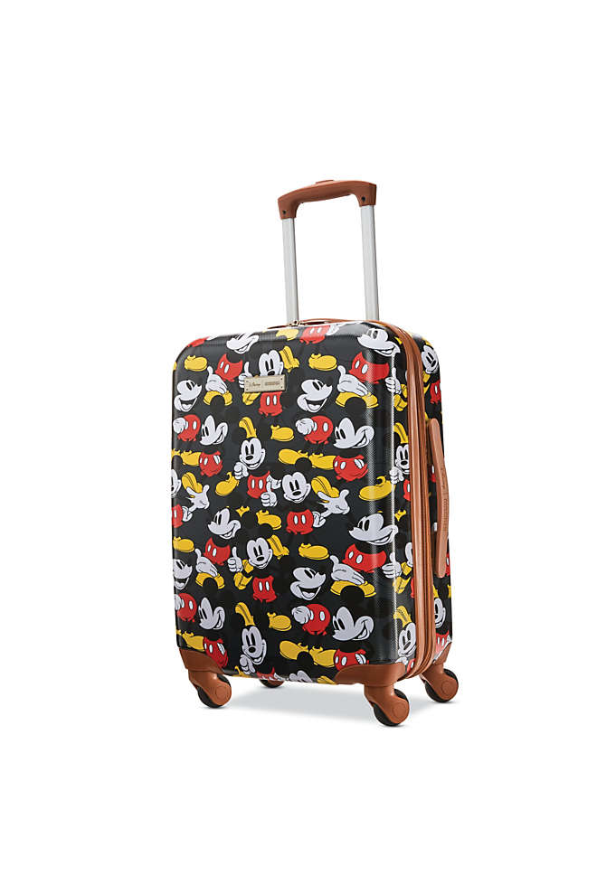 American Tourister Disney Classic Mickey Hardside 20 inch Spinner Luggage, Front
