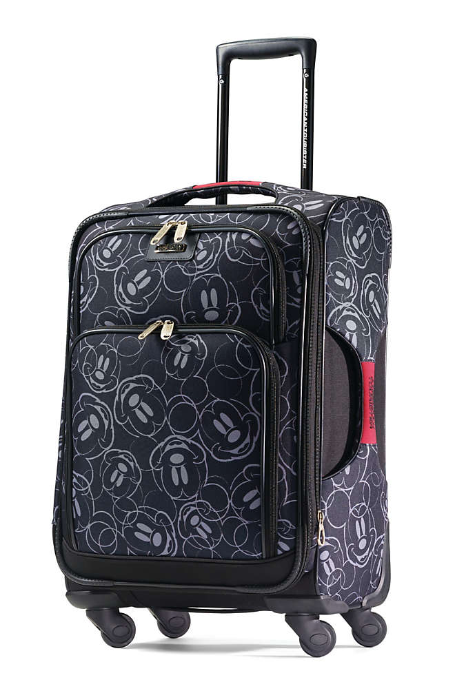 American Tourister Disney Mickey Softside 21 inch Spinner Luggage, Front